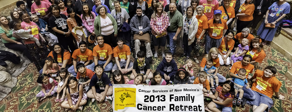 2013 Spring Family Cancer Retreat